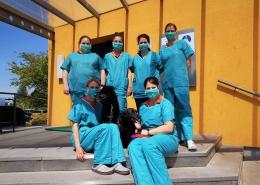 Team der Kleintierklinik St. Veit