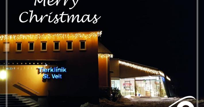 Tierklinik St Veit Weihnachten 2020